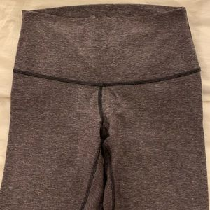 Lululemon Wunder Unders with Fold over top